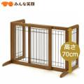 【送料無料】リッチェルペット用木製おくだけゲートH70【ゲート】【仕切り】