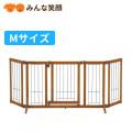 【送料無料】ペット用木製おくだけドア付ゲートS【ゲート】【仕切り】