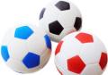 ノーパンクサッカーボール3色【犬おもちゃラバー】