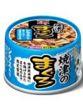【アイシア】【缶詰】焼津のまぐろシリーズ焼津のまぐろ シラス入りまぐろと国産若鶏ささみ 70g