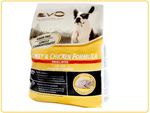 EVO ドッグフードターキー&チキン1kg