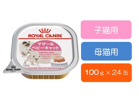 ■マザー&ベビーキャット インスティンクティブ (子猫・母猫用) 100g×24缶