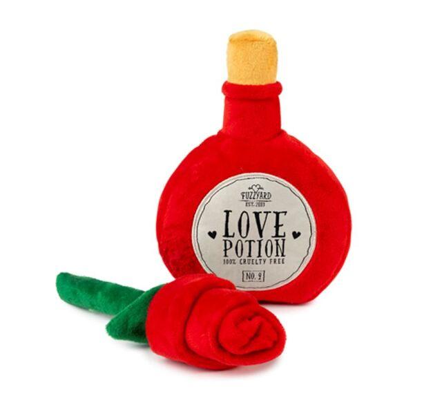 Fuzzyard I Heart you Potion/Rose 2 Pack