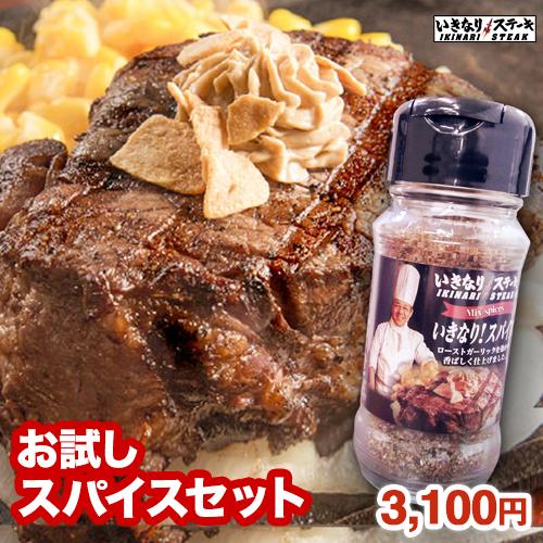 いきなりステーキ 米国産牛ひれ200g×1枚、いきなり!スパイス85g×1本 セット 【いきなり!ステーキ公式 肉 ステーキ】 ギフト