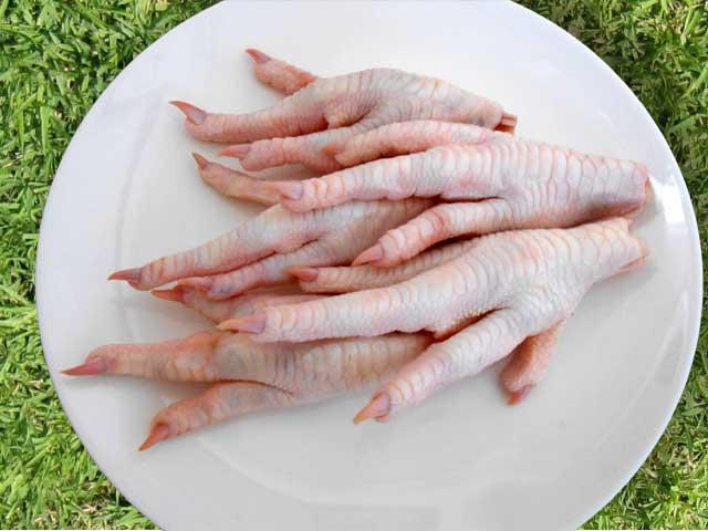 国産鶏肉 鶏足 1kg(約36本入り)
