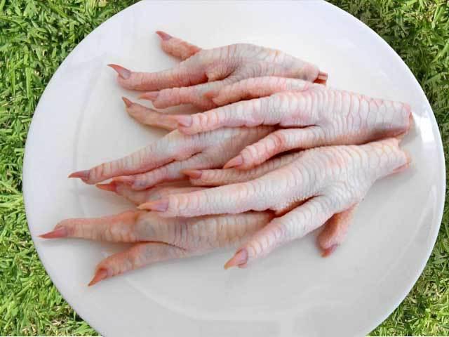 国産鶏肉 鶏足 1kg