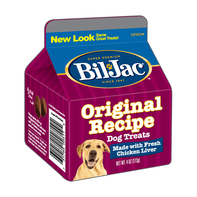 レバートリーツ 113g ビルジャック BIL-JAC Original Recipe Dog Treats
