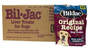 ケース◆レバートリーツバリューパック 283g 8個入り ビルジャック BIL-JAC Original Recipe Dog Treats