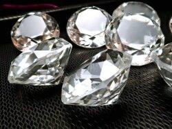水晶ダイアモンドカット