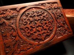 木彫りジュエリーBOX