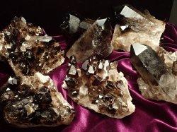 モリオンクラスター原石