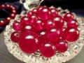 ◆1粒売り◆超希少!◆最高級プレミアランク◆宝石の女王◆透明感抜群!宝石質ルビー【紅玉】◆バラ珠売り◆9.5-10mm◆【ミャンマー産】◆