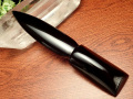◆激レア!魔除けの石ナイフ◆限定入荷!◆ツーソン展示会商品◆気品ある黒曜石使用◆古来からの強力な守護石◆ブラック・オブシディアン【黒曜石】ナイフ◆長さ約17.5-18.5cm◆【メキシコ産】