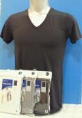 ファイテン RAKUシャツ メンズインナー V首半袖 吸汗速乾 抗菌消臭