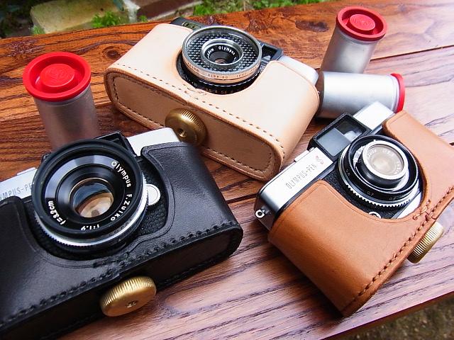 オリンパスペンシリーズカメラケース&ストラップ OLYMPUS(PEN・S・EE・D)