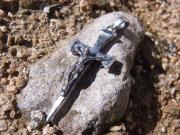 聖釘の十字架 シルバー950 L