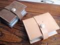 大容量!ヌメ革カードケースS