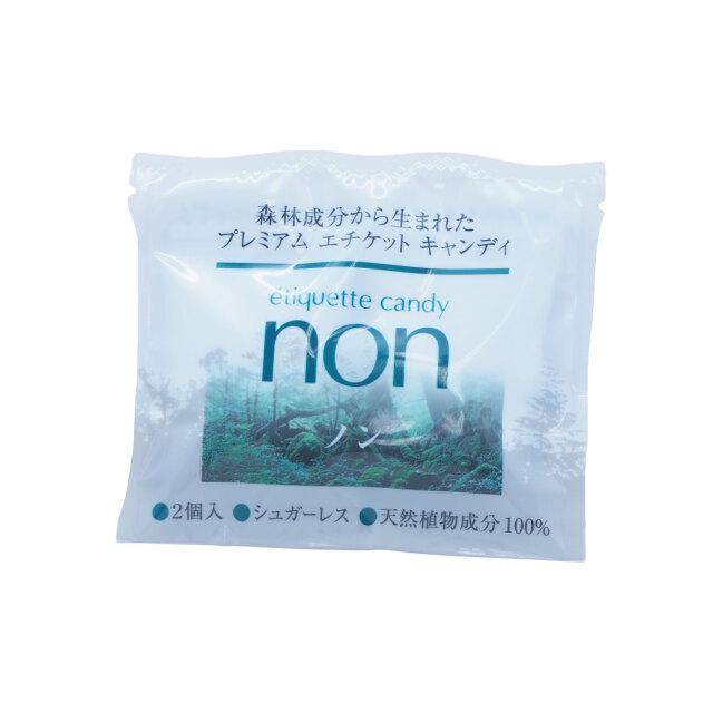 エチケットキャンディ「non」 バラ