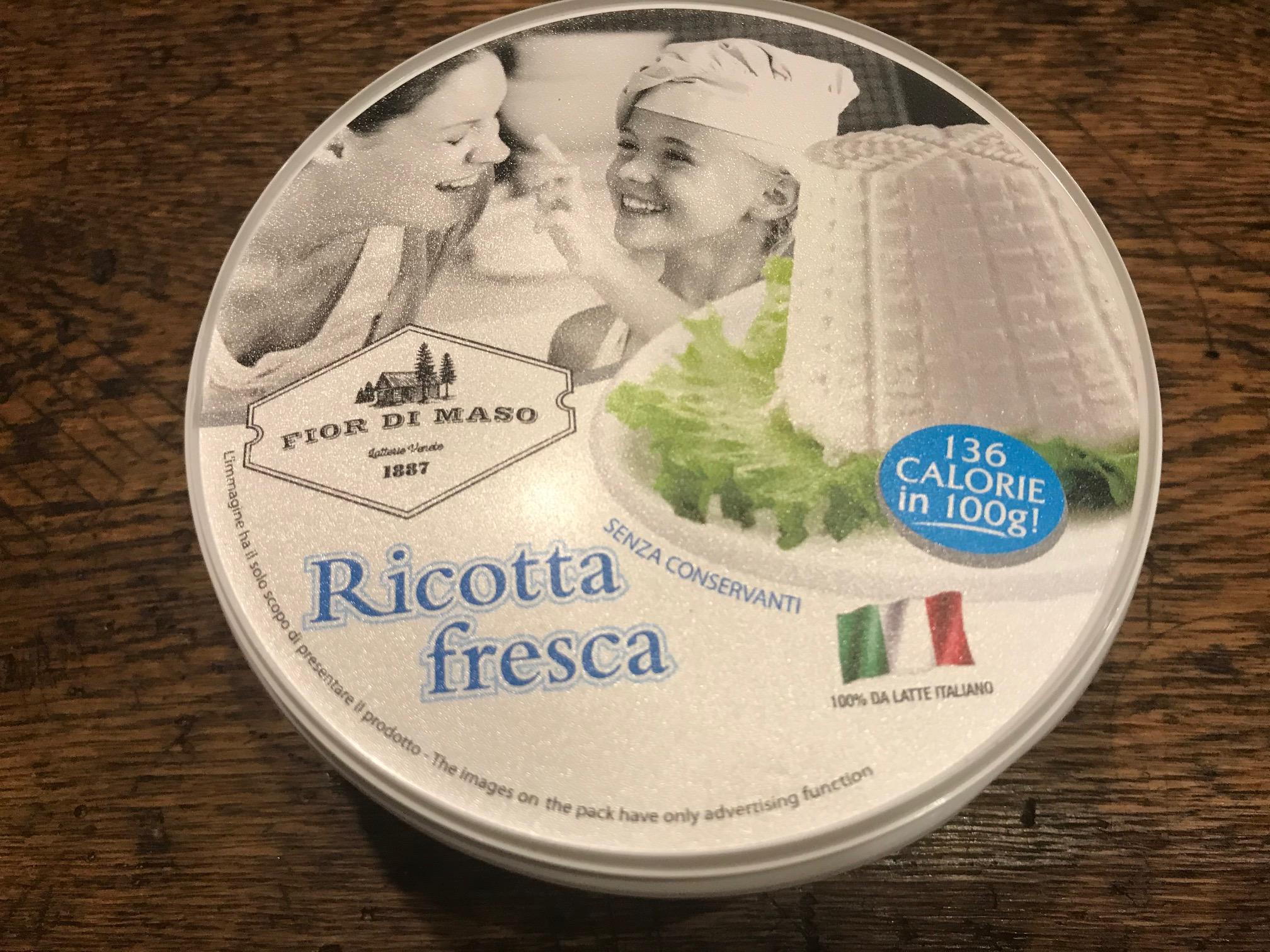 リコッタ・フレスカ(牛乳) 250g