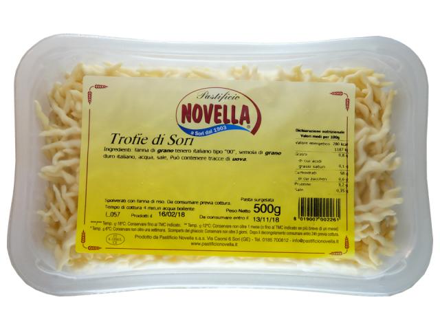 パスタ【ノヴェッラ】トロフィエ(冷凍)