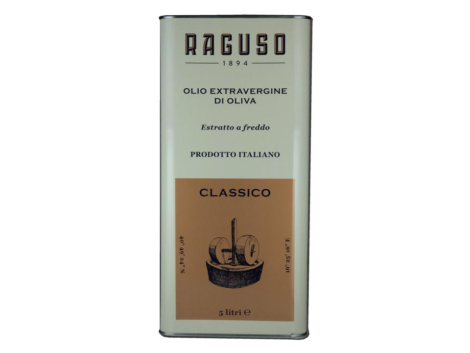 ラグーソ・クラッシコ EXVオリーブオイル 5リットル缶