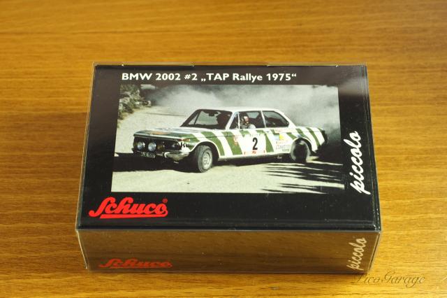 【Schuco】シュコー ピッコロ BMW 2002 75 TAPラリー #2 A. Warmbold