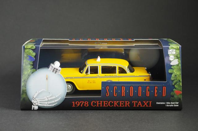 GREENLIGHT 1/43スケール 1978 Checker TAXI X'Mas パッケージ
