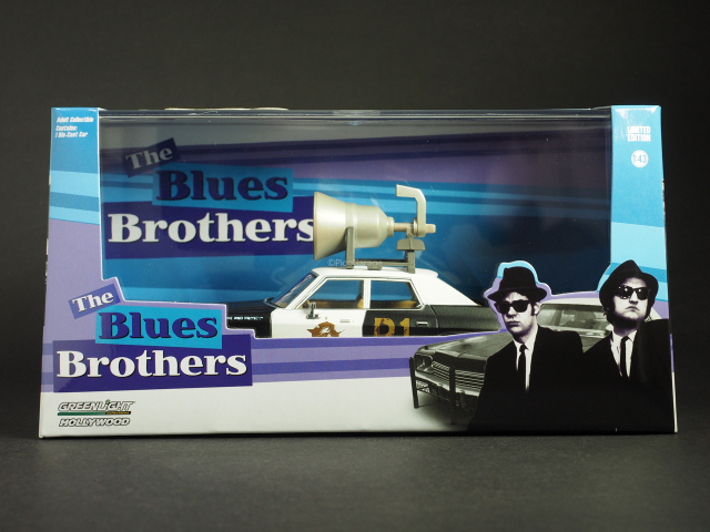 GreenLightダッジモナコ「BluesMobile」1/43_1