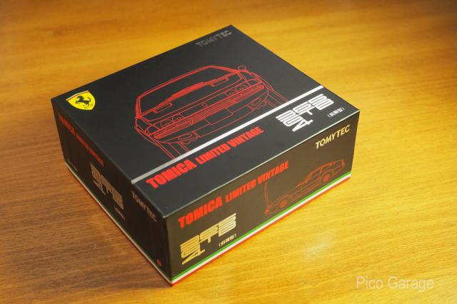 トミーテック  1/64 フェラーリ365GTB4_化粧箱