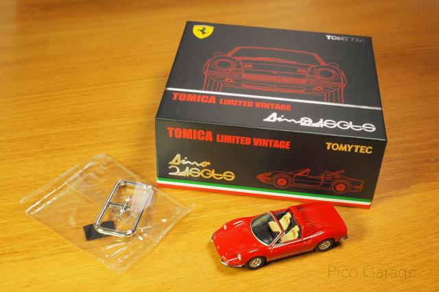 トミーテック フェラーリ ディーノ 246GTS-3