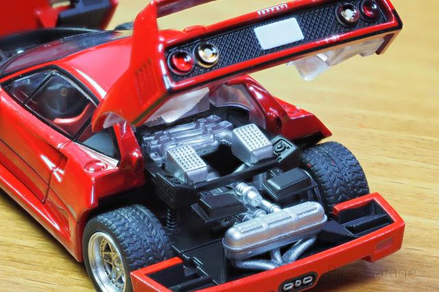 トミーテック フェラーリF40-3