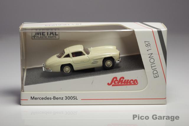 シュコー1/87メルセデスベンツ300SL(ホワイト)ケース