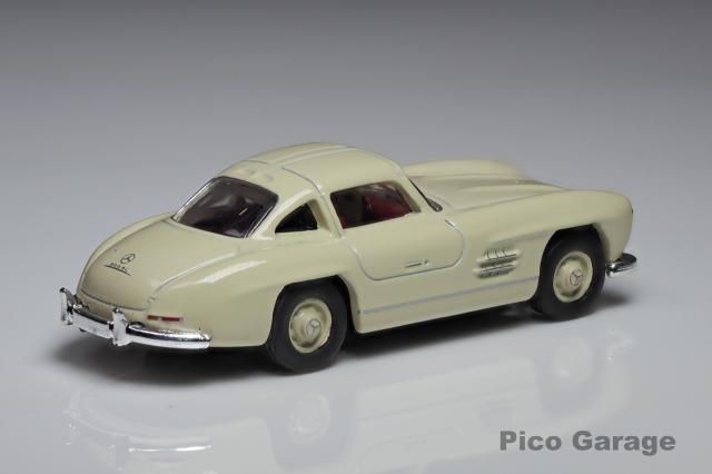 シュコー1/87メルセデスベンツ300SL(ホワイト)リア