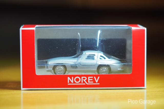 ノレブ1/64メルセデスベンツ300SL箱