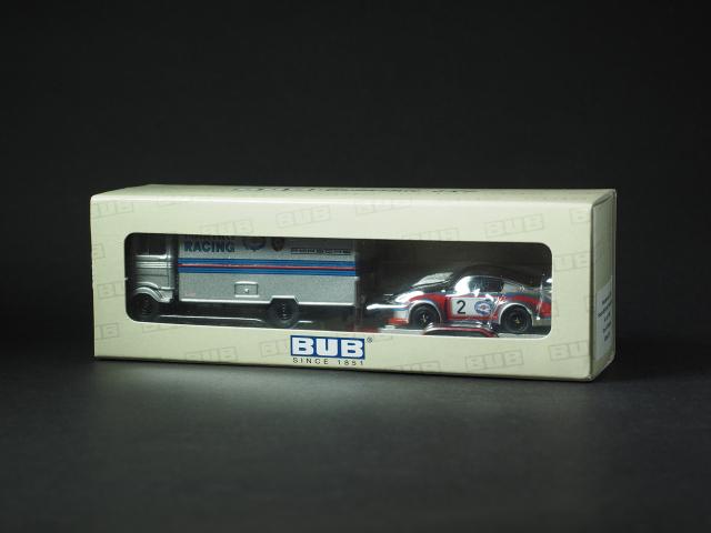 PremiumClassiXXs1/87 メルセデスベンツLP608MARTINIトレーラー_ケース