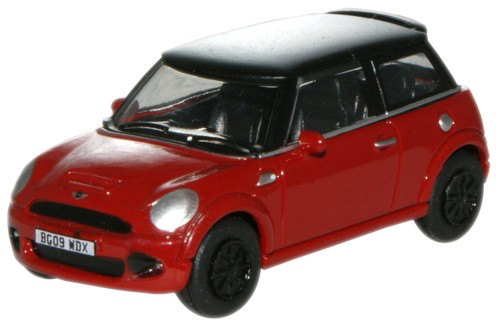 OXFORD BMW MINIクーパー 1/76 レッド