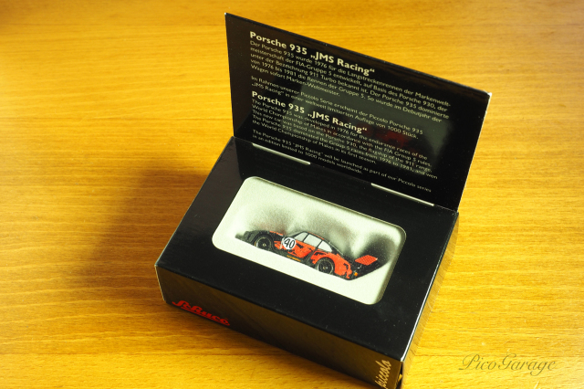 【Schuco】シュコー ピッコロ  ポルシェ 935 JMSレーシング 77 ルマン #40 B.Lena/Gregg 1