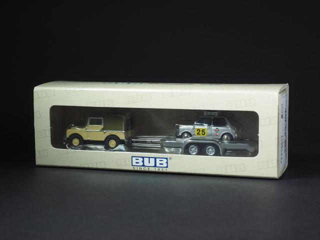 PremiumClassiXXs1/87 ランドローバー/ミニクーパートレーラー_ケース