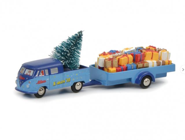 Schuco ピッコロ VW T1 クリスマス 2018-1