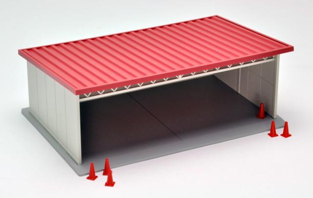 トミカラマヴィンテージ07a 屋根付駐車場