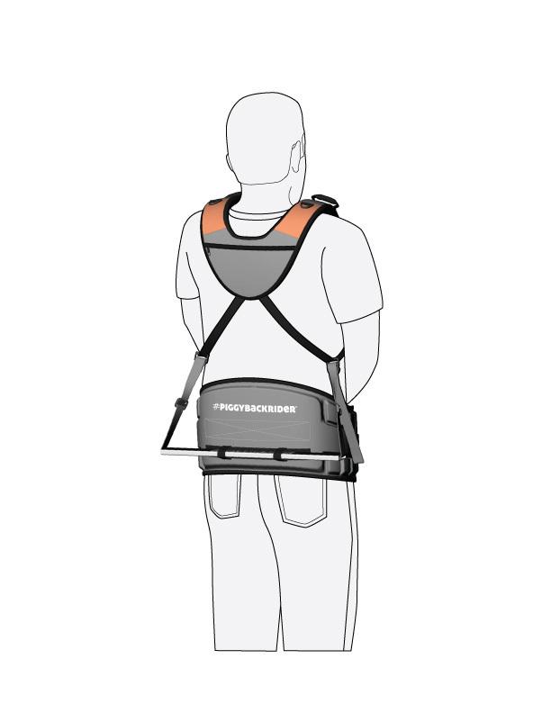 ピギーバックライダー 専用腰サポートベルト
