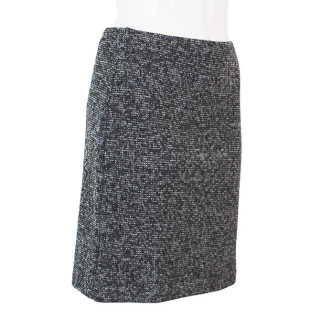 【ARIANNE】【アリアンヌ】3276  ニットスカート*ブラック/グレー