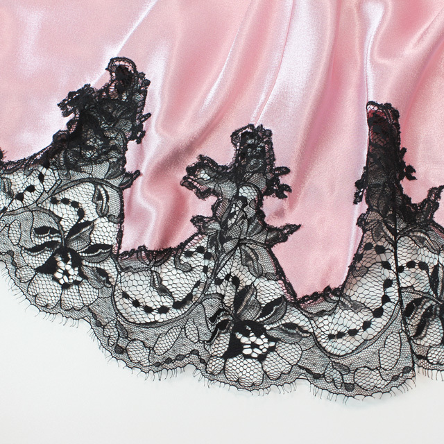 【COEMI】【コエミ】「Eternal Glam」 172239 バッククロス スリップ Tearose/Black