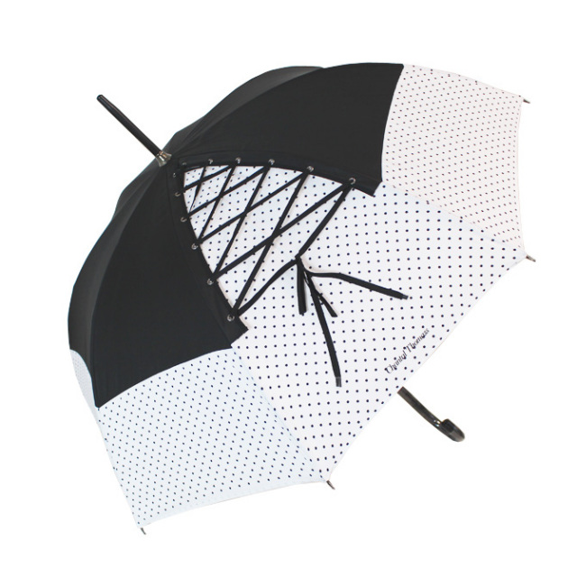 CT198 レースアップ晴雨兼用傘