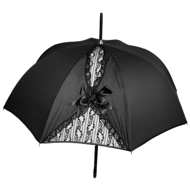 【Chantal Thomass】【シャンタルトーマス】CT222「Gros noeud」リボン&レース晴雨兼用傘
