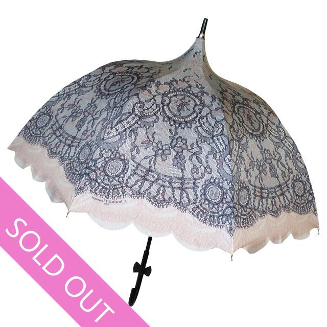 【Chantal Thomass】【シャンタルトーマス】parapluieレースプリントアンブレラ