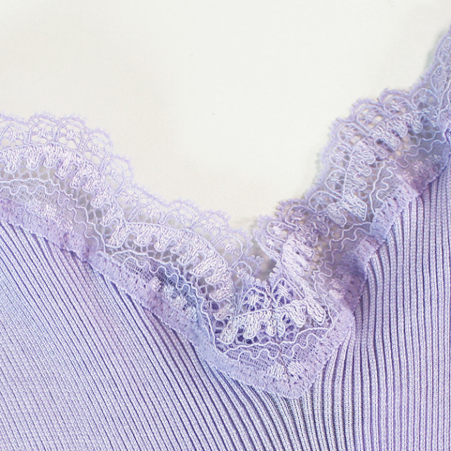 【Oscalito】オスカリート 3160 コットンキャミソール Lilac