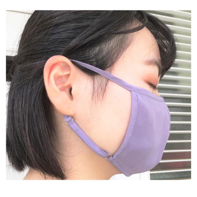 【a sakura】【ラ・サクラ】3090 シルク100% 洗えるシルク マスク ポケット付き立体タイプ ポケット付き