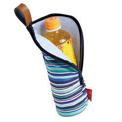 水滴サヨナラ!しっかり冷たい!☆チョコっと便利なボトルバッグ☆