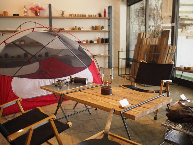 足場板とアイアンの組み立てテーブル|LOWトリプル|同梱不可商品